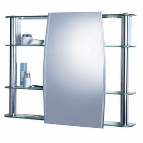 Armario-Para-Banheiro-de-Sobrepor-80X61Cm-Slip-1300-Cris-Metal
