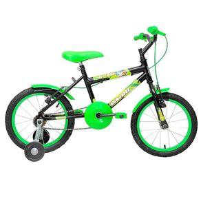 Bicicleta-mtb-C-16-Aro16Preto-Verdee-Cairu