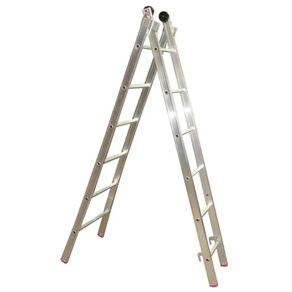 Escada-Est-Dupla-12-Degraus-76X3.60-Alum-Alulev
