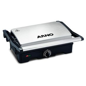 Grill-Dual-127V-Inox-Arno