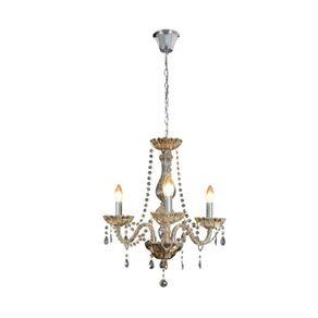 Lustre-Classico-3E14-Ambar-Bronzearte